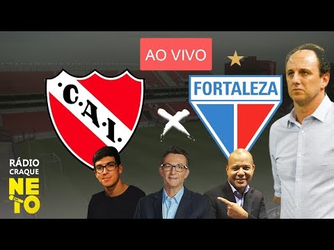 Independiente (ARG) x Fortaleza | AO VIVO | Rádio Craque Neto - Sul-Americana 2020