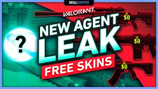 NEW AGENT LEAK, FŔEE SKINS, & CHANGES TO MAP ROTATION
