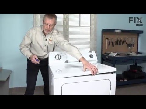 Kenmore Dryer Repair – How to replace the Multi Rib Belt - 92-1/4 on