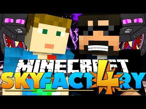 Minecraft: SkyFactory 4 - AUTO ENDER...