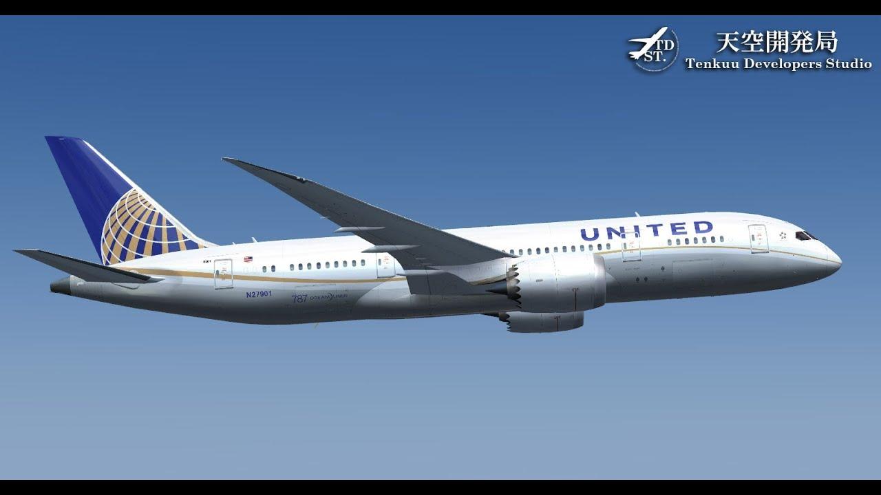 [HD][FSX] TDS BOEING 787 Landing in El Dorado Intl