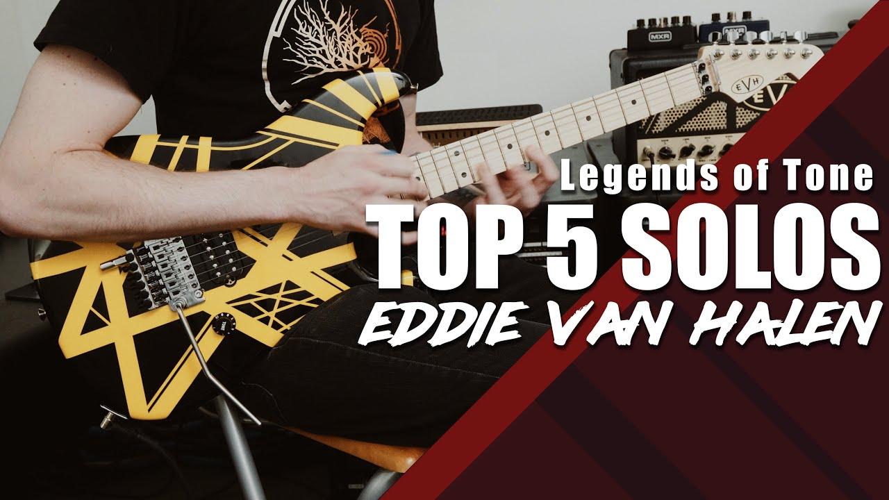 Eddie Van Halen S Top 5 Solos Youtube