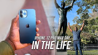iPhone 12 Pro Max Day in the life w/5G