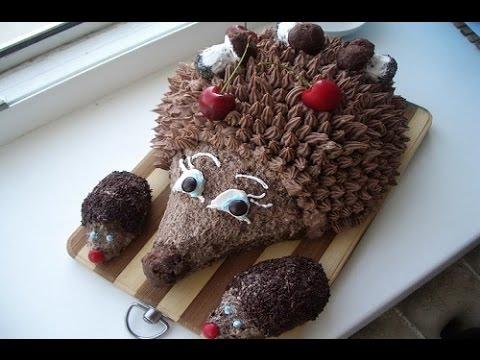 Как сделать торт ёжик 44