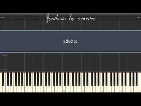 [Synthesia][MIDI] adelita
