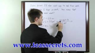 TEAS V Review -TEAS Math Practice