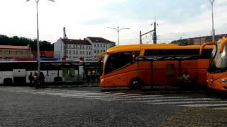Автовокзал Florenc в Праге