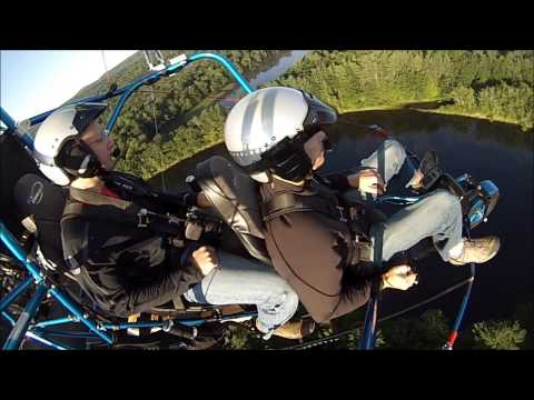 Powered Parachute (PPC) Discovery Flight 2015 in Concord NH
