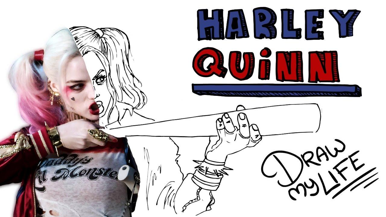 HARLEY QUINN | Draw My Life