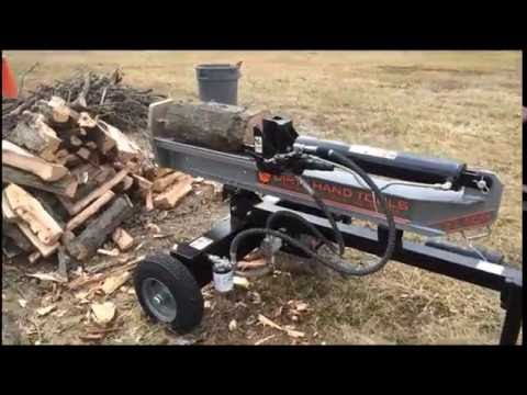 Dirty Hand Tools 22 ton logsplitter from Lowes