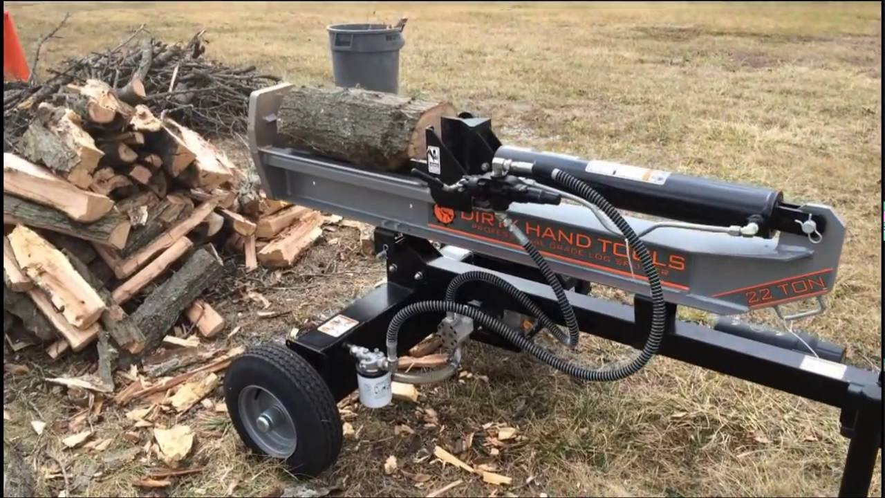 Dirty Hand Tools 22 Ton Logsplitter From Lowes You