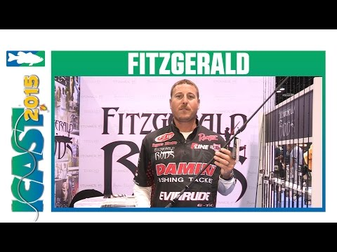 Fitzgerald Stunner HD Series Casting Rods with Bryan Thrift | ICAST 2015