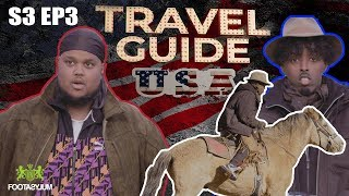 ROAD TO KSI: CHUNKZ AND AJ RIDE HORSES DOWN OLD TOWN ROAD | TRAVEL GUIDE USA EP 3