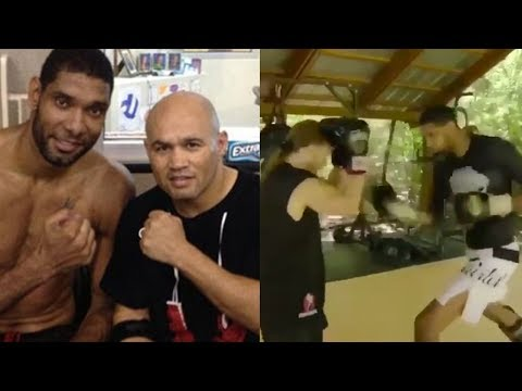 Tim Duncan Starts Training MMA