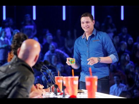 BEST Magic Show in the world 2016 - Genius Rubik's Cube Magician America's Got Talent 2016
