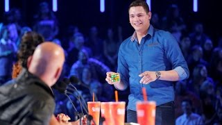BEST Magic Show in the world - Genius Rubik's Cube Magician America's Got Talent thumbnail