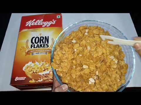 Kellogg's Corn Flakes : Real Almond and Honey