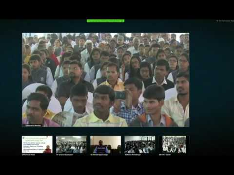 Address by Hon'ble Minister HRD Prakashji Javdekar