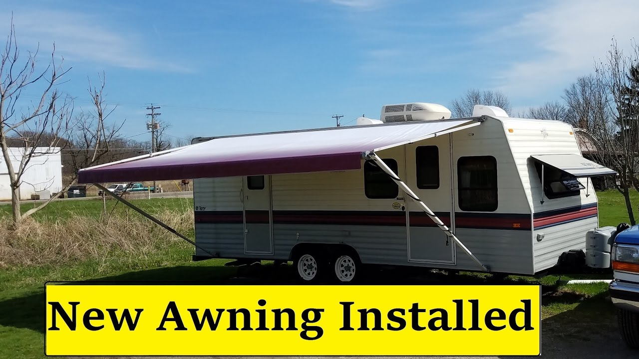 NEW RV Awning Installed