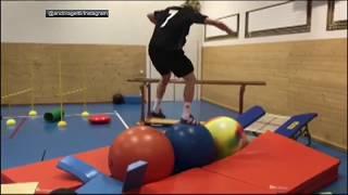 Swiss skier executes insane workout   ESPN
