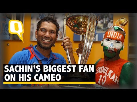 The Quint: Sachin Tendulkar's Biggest Fan Talks About His Cameo In Sachin's Biopic