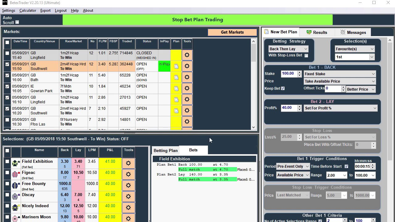 Back lay betting software sports mihr mining bitcoins