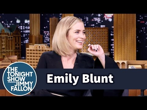 Emily Blunt's Kids Are Picking Up Their Dad's American Accent