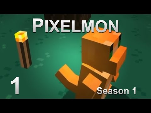 Pokemon in Minecraft - Episode 1 - Charmander, I choose you!