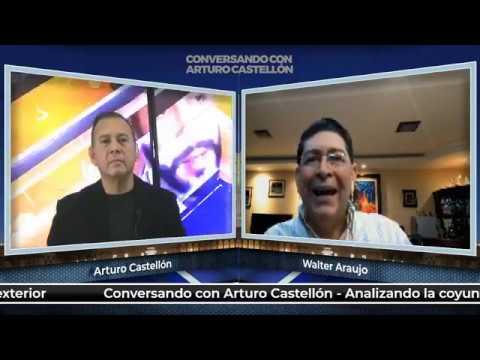 Walter Araujo y toda su verdad en  con Arturo Castellón. (23NOV2018)