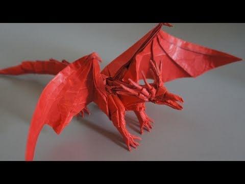 Origami Giveaway 4 Ancient Dragon Satoshi Kamiya Youtube