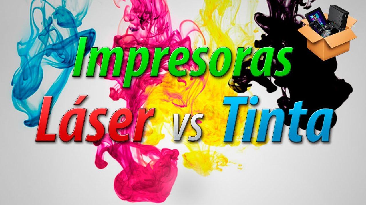 Es mejor una impresora laser que una de inyección de tinta? - YouTube