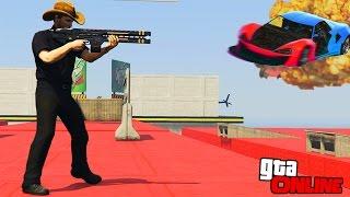 �������� ���� ПОГОНЯ ОТ РЕЛЬСОТРОНА НА ТРОПЕ СМЕРТИ! (GTA 5 ONLINE) ������
