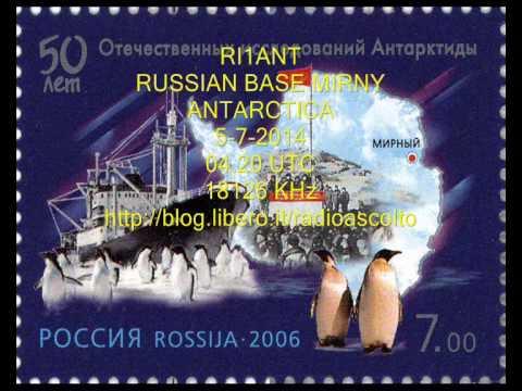 RI1ANT RUSSIAN BASE MIRNY ANTARCTICA