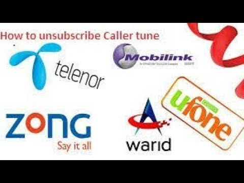 How to Unsubscribe Zong dial tune