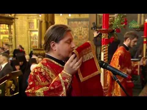 Божественная литургия из Успенского собора Московского Кремля, 29 апреля 2019 г.