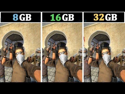 In Streaming & Multitasking Memory Test | 8GB Vs 16GB Vs 32GB | Tested 15 Games |