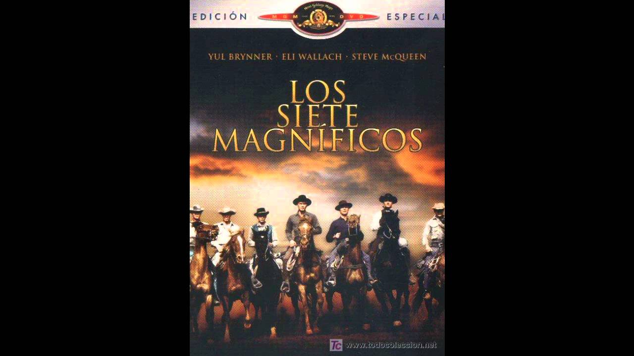hd bso ost los 7 magn ficos the magnificent seven youtube. Black Bedroom Furniture Sets. Home Design Ideas