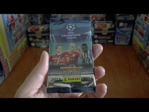 PACK OF THE DAY #27 panini ADRENALYN XL UEFA CHAMPIONS LEAGUE 2013 / 2014 Trading Cards