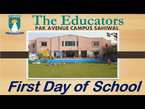 Download First School day | New Session 2021 | The Educators School