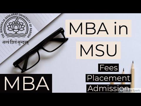 MBA in MSU: