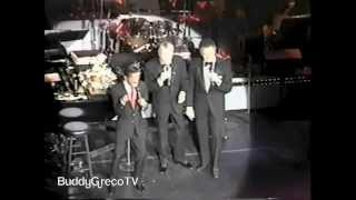 Buddy Greco, Frank Sinatra & Sammy Davis Jr, The Lady Is A Tramp. Ballys, Las Vegas