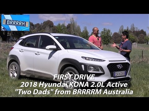 2018 Hyundai KONA 2.0L Active First Impressions Two Dads from BRRRRM Australia