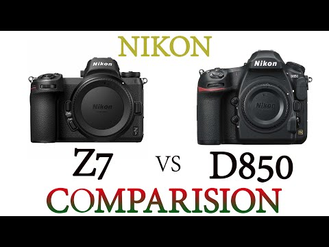 NIKON Z7 vs NIKON D850 Comparison Video - YouTube