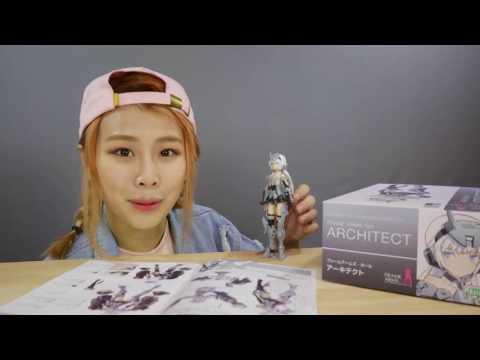 Frame Arms Girl Official Ep 2 - Spotlight on Architect!