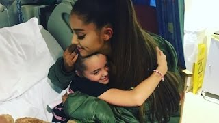 Ariana Grande visits victims at Manchester hospital thumbnail