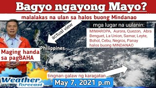 Download lagu WEATHER UPDATE TODAY May 7, 2021p.m| PAGASA FORECAST|RAIN FORECAST| THUNDERSTORM WARNINGS| BAGYO