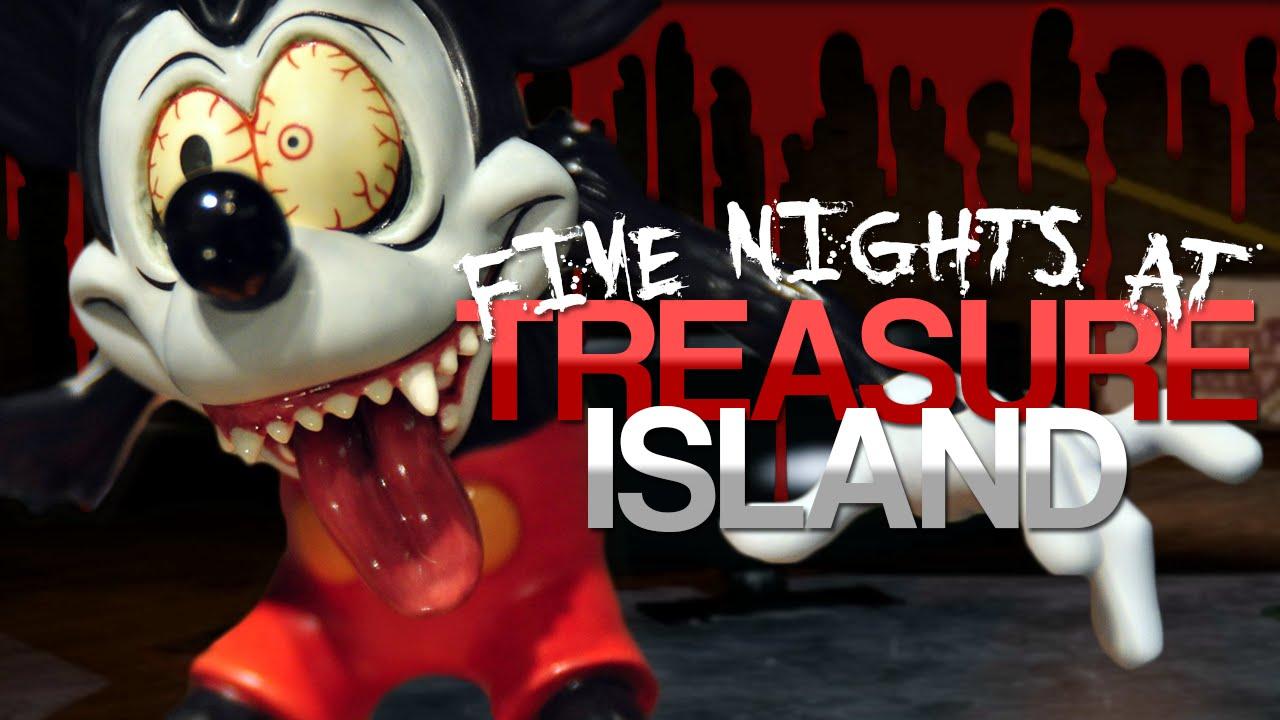 Disney meets five nights at freddy s five nights at treasure