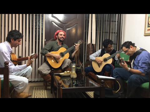 VÍDEO - Al Compás de La Vigüela - Vencedora da 1ª Esquila e Vindima do Canto Gaúcho (Ensaio)
