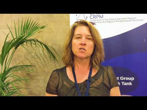 Interview with Eleni Marianou, at CPMR/Attica Conference on 'Migration & Asylum' (23 April, 2018)