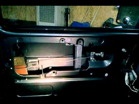 hqdefault vanagon power window regulator removal1 youtube Vanagon Interior Light Wiring at couponss.co